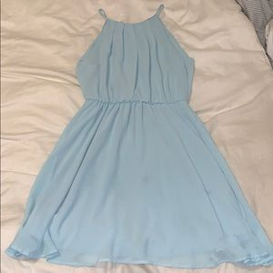 Dresses & Skirts - Light blue semi-formal dress